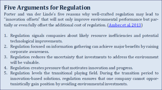 5 Reasons for Regs